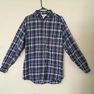 Men's REI Flannel Long Sleeve Shirt (L Tall)